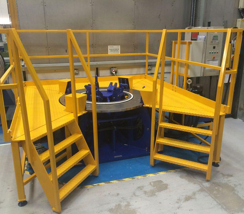 Hydraulic Press Rig